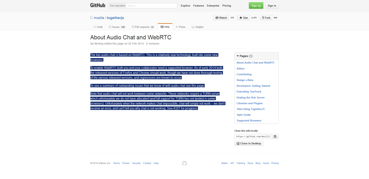 Audio chat doesn't really work however. :) Mozilla y u fail us?